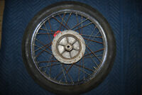 Set of Wheels from 1974 Yamaha RD