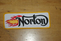 SUPERBE ÉCUSSON, PATCH NORTON