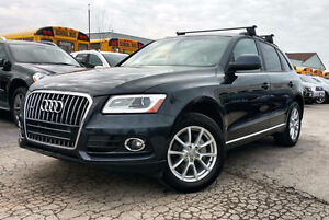 2014 AUDI Q5 2.0T WARRANTY|ACCIDENT FREE|NAVY ON BROWN|AWD