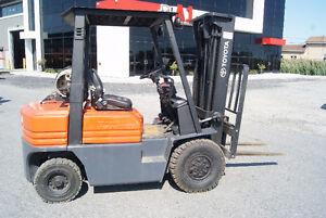 Forklift, chariot elevateur ,sideshift,pneumatic,toyota 5fgu25