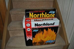 7 pcs Northland 5lb fireplace logs Kitchener / Waterloo Kitchener Area image 1