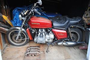 back on the market , 4 vintage GL 1000 goldwings and many parts