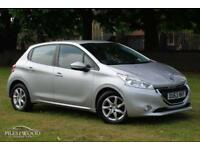 2013 / 63 PEUGEOT 208 1.2 VTI ACTIVE 5 DOOR HATCHBACK - SILVER - LOW MILEAGE