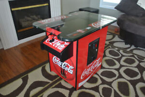 COCA - COLA  ARCADE GAME  UPRIGHT OR  CT TABLE