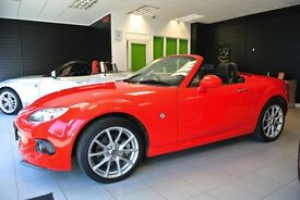 Mazda MX5 2.0I ROADSTER COUPE SPORT TECH (red) 2014