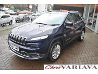 2015 Jeep Cherokee M-JET II LIMITED ** TECHNOLGY PACK + PAN ROOF** Diesel blue A