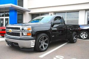 "Fast HD Eliminator 20"" wheels sierra silverado"