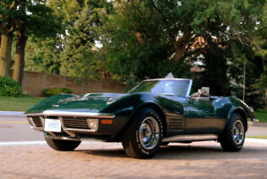 1971 LT1 Corvette convertible 44,000 actual miles, all original