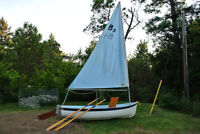 Great sailing/rowing dinghy