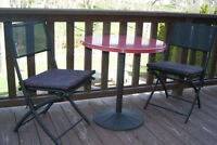 TABLE & 2 CHAIRS PATIO SET