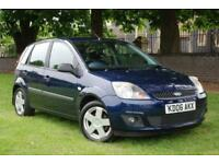 2006 FORD FIESTA 1.4 TDCI ZETEC CLIMATE 5 DOOR HATCHBACK - METALLIC BLUE