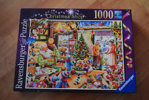 Ravensburger 2012 Christmas Limited Edition 1000 Puzzle