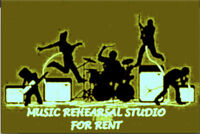 *** MUSIC REHEARSAL STUDIO- FREE RENT **MOVE IN INCENTIVE*****