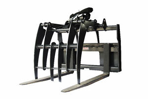 Jenkins HEAVY DUTY Pallet Forks Grapple Skidsteer Attachment Kitchener / Waterloo Kitchener Area image 1