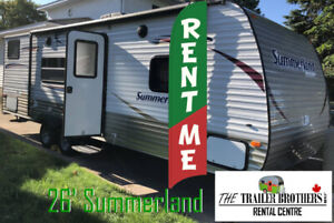 Spring Reno? Travel Trailers 4 RENT