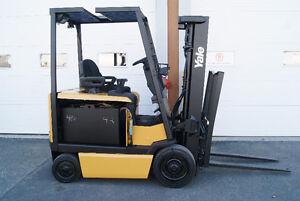 Chariot elevateur,forklift  ,sideshift,electrique,YALE ERC050