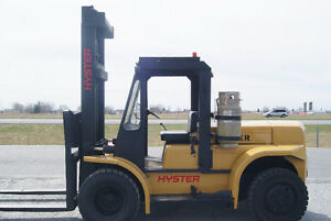 FORKLIFT,CHARIOT ELEVATEUR,S.S, HYSTER H110F
