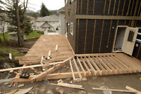 Decks, Fences, Railings, Stairs &  General Construction