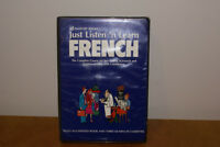 Just Listen N Learn French Book & 3 Cassettes $30