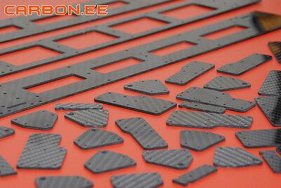 Carbon.ee´s CNC cutted Carbon Fiber details