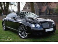 2008 BENTLEY CONTINENTAL GT 6.0 W12 COUPE AUTO [550 BHP] MULLINER - BELUGA BLACK