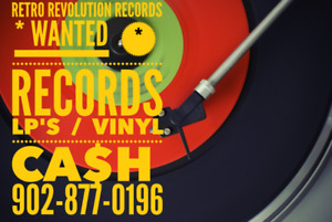RETRO REVOLUTION RECORDS - Wants Your Old Record Collections !