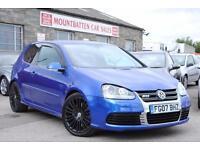 2007 Volkswagen Golf 3.2 V6 R32 DSG 4Motion 3 Door Blue Petrol Automatic