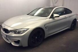 2015 SILVER BMW M4 3.0 T 425 BHP DCT PETROL AUTO 2DR COUPE CAR FINANCE FR £121PW