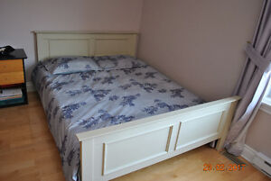 bed frame + head board