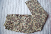 STUSSY Camo Print Slim Pants (New)