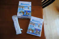 Wii Sports Resort Game with Remote and Motion Plus