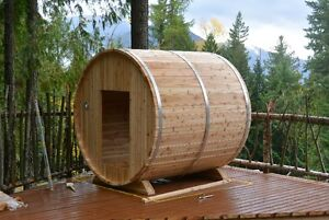 BARREL SAUNAS!! Seats 6 People, Easy to Assemble, Free Delivery North Shore Greater Vancouver Area image 7