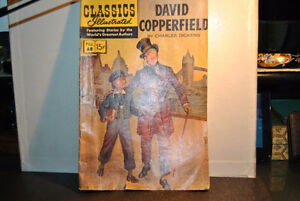 "CLASSICS ILLUSTRATED COMICS No. 48 ""DAVID COPPERFIELD"" (1969"
