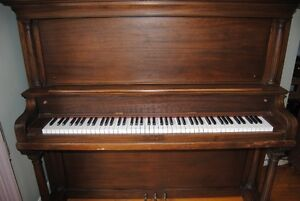 Grinnell Bros Upright Piano