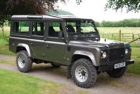 Land Rover defender 110 CSW 300 TDI