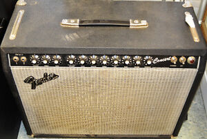 1983  Fender Concert Amp Fender 1x12 Rivera Era with foot pedal