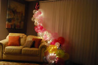 Balloon decoration for birthday parties or any events
