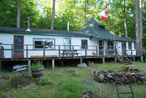 COTTAGE for sale - **WHITE FISH lake on Mystery Island**