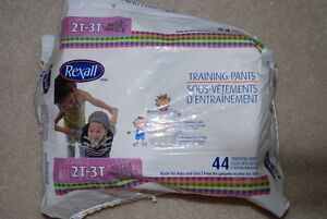 diapers, training pants