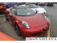 2017 Alfa Romeo 4C TBI SPIDER 50TH ANNIVERSARY Petrol red Semi Auto