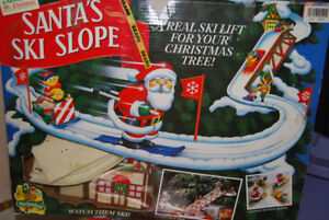 Mr. Christmas Santa's Ski Slope