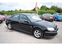 2002 (52) Saab 9-3 Linear 2.0 T Turbo Petrol Manual Black 4 Door Saloon