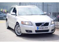 One Owner 2008 08 Volvo V50 2.4 D5 Geartronic Lux