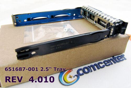 """G9 REV 4.010 2.5/"""" Tray Bracket DL380p DL360p DL160 HDD SFF SAS 651687-001 for HP"""