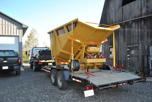 Dump trailer, 18 ton, off road