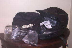 Two Gmax GM37X ATV Helmets -  1 New, 1 Used Once: $55 each