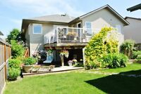 FULLY FINISHED WITH DETACHED GARAGE IN TERRACE HEIGHTS!!