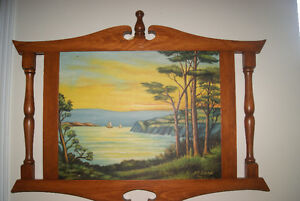 BEAUTIFUL 1940 OIL ON CANVAS PAINTING - LANDSCAPE BY M.P. DUPONT West Island Greater Montréal image 2
