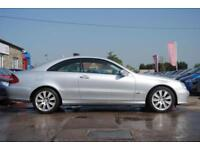 2007 (56) MERCEDES-BENZ CLK 320 ELEGANCE 3.0 CDI COUPE SILVER AUTOMATIC DIESEL