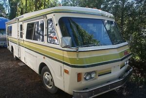 1976 FMC  vintage  A class  -29 ft  m.home..rear pusher